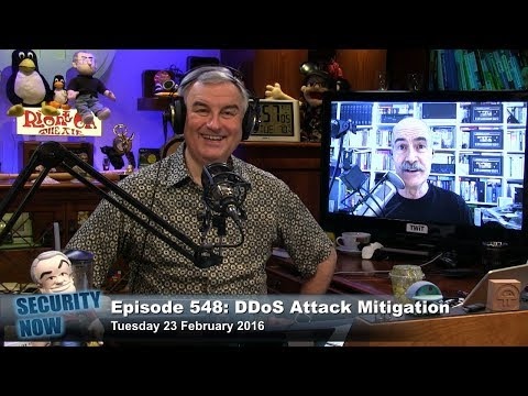 Security Now 548: DDoS Attack Mitigation
