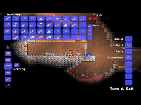 Terraria - E009 - Marvin's Underground Bed (doesn't work)