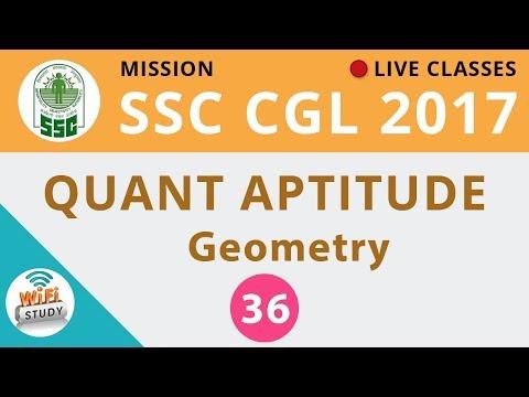 Mission SSC CGL 2017 | Quantitative Maths #Geometry | Day-36
