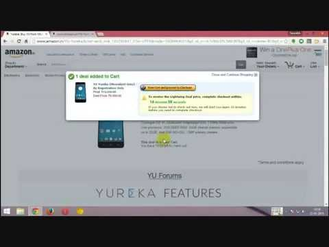 Tutorial: How to Order Yu Yureka from Flash sale [Includes Live Video from previous sale]