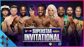 The WWE 2K18 Superstar Invitational Tournament BRACKET REVEAL is here!