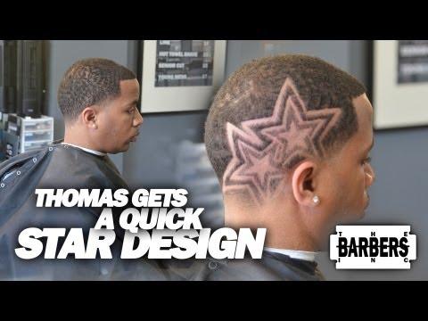 HOW TO: Easy Custom Star Design   Men's Haircut Tutorial   HD - 1080p