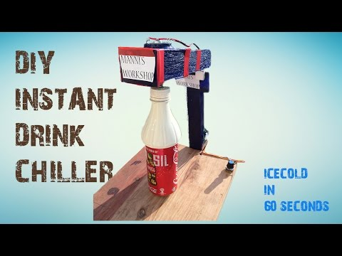 ✅How to make a Instant Drink Chiller machine (Upgraded Version)