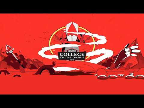 College Championship 2018 Login Screen Animation Theme Intro Music Song【1 HOUR】