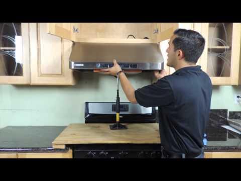 Under cabinet Range Hood Installation - New version