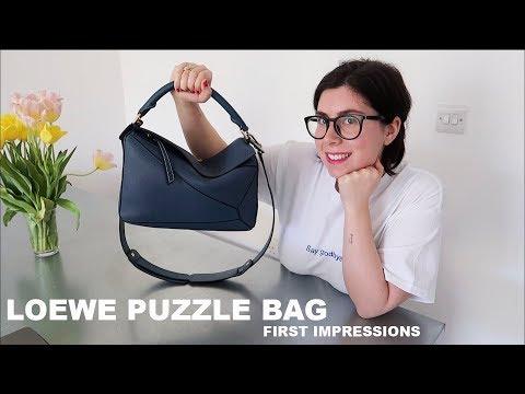 LOEWE PUZZLE BAG (medium) |  First Impressions & MOD SHOTS
