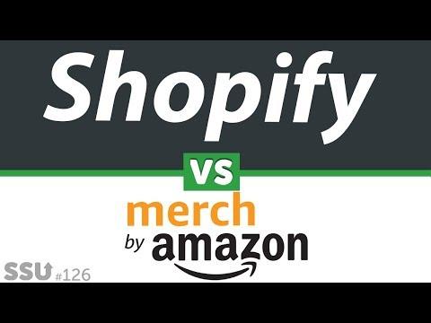 Shopify PROFITS vs Amazon Merch  |  What makes you more money?
