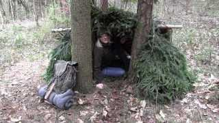 Building A Survival Shelter