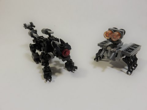 Lego Transformers Revenge of the Fallen- Ravage and Scapel
