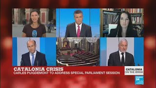 Catalonia: Carles Puigdemont wants to plot not talk