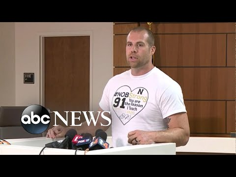 Hero teacher who disarmed school shooter speaks out