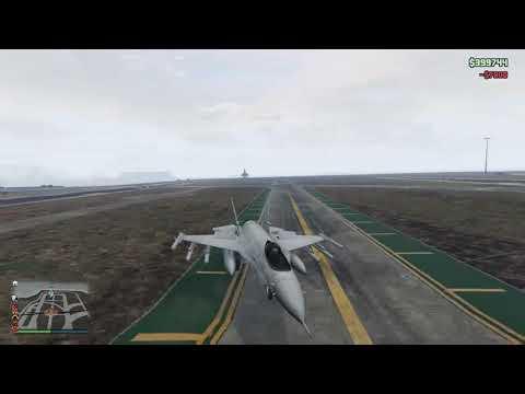 Backwards take off/ Gta 5