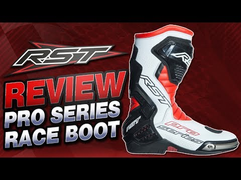 RST Pro Series Race Boots Review | Sportbike Track Gear