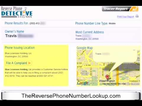 Reverse Phone Number Lookup - Find a Person Calling Your Cell Phone