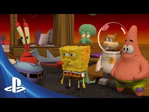 SpongeBob SquarePants: Plankton's Robotic Revenge Announce Trailer