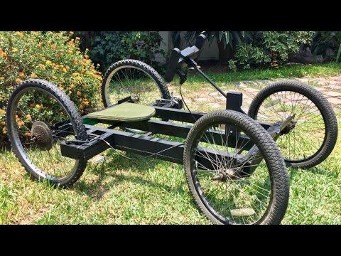Construyendo carro | GoKart casero con llantas de bicicleta