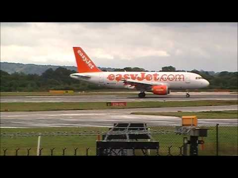 easyJet Action at Manchester Airport