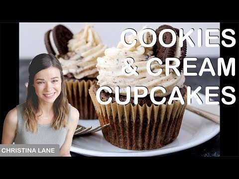 BEST Cookies and Cream Cupcakes (small recipe!)
