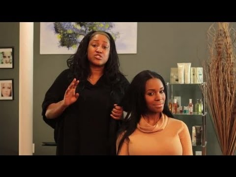 A Hair Weave That You Can Wet, Straighten & Perm : Hair Styling Tips