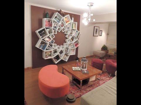 60 Creative Bookshelves Design Ideas - Bookself home design idea