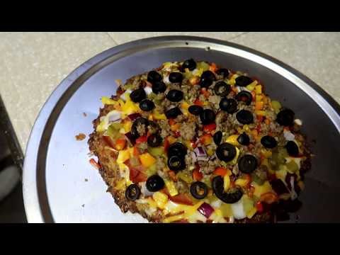 Make a Califlower Pizza Crust in your RV Convection Oven