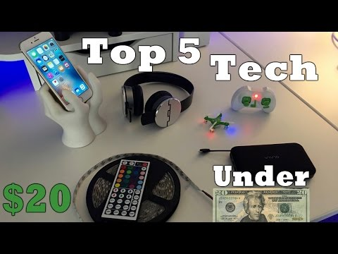 Top 5 BEST Tech Under $20 - JUNE