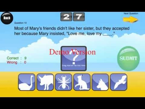 #123 Animal Metaphors & Idioms for Android/Blackberry Playbook
