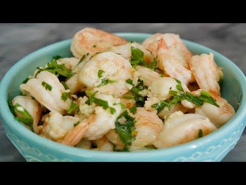 Garlic Shrimp Recipe   How To Make Garlic Shrimp   SyS