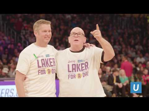 Dana & Brian Gilliam: Laker for a Day | UCLA Health