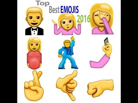Best NEW Emojis|| 100 NEW iOS 10 EMOJIS