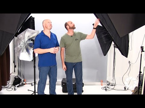 Small Studio Setup: Exploring Photography with Mark Wallace