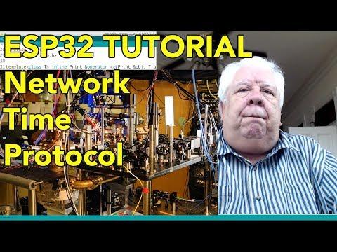 ESP32 Tutorial - Network Time Protocol