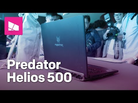 Acer Predator Helios 500 gaming laptop hands-on