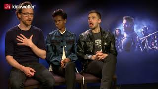 Interview Tom Hiddleston,  Letitia Wright, Sebastian Stan AVENGERS: INFINITY WAR