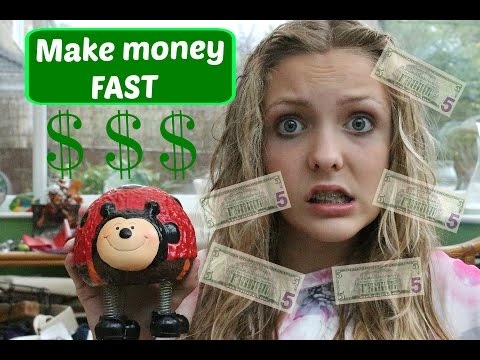 How to make money FAST as a teen and child!