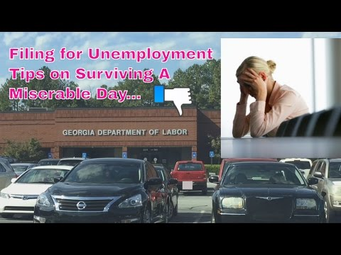 How to Survive Filing for Unemployment - Tips to Get Through the Day of Dread!