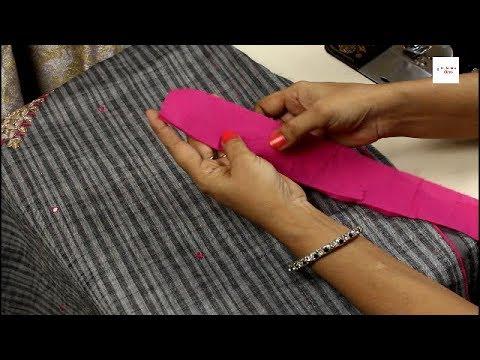 ऐसे बनांये डोरी पिपिंग ब्लाउज या सूट मे लगाने के लिए ,How to make,dori, piping, patti, simple method