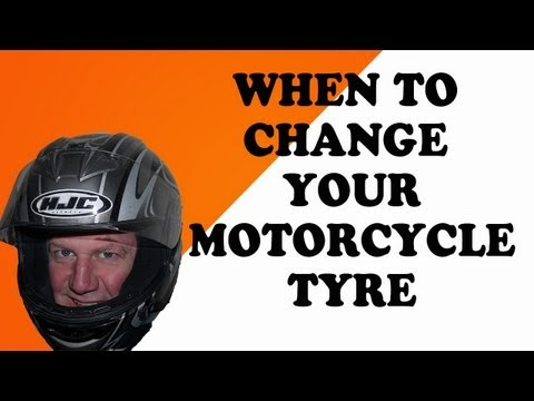 When to change your motorcycle tyre