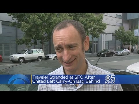 UNITED AIRLINES:  International traveler stranded In San Francisco after baggage incident on United