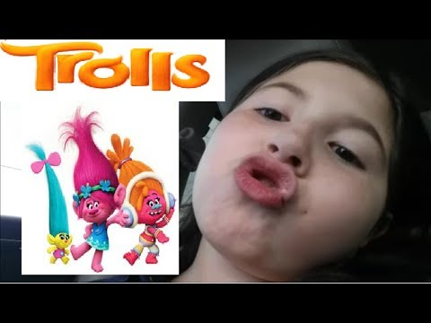 Monse singing |Trolls Movie | Can't stop the feeling