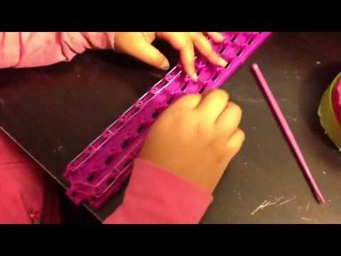 Bridge bracelet crazy loom