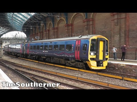 An hour at Brighton Station 07/06/2017