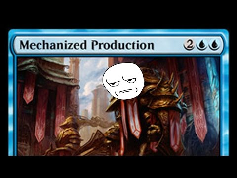 The Horribly OP Mechanized Production + Sample Deck