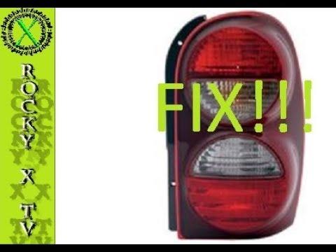 Jeep Liberty Tail Light Fix