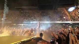Jovanotti (Gli Immortali - Ti Porto Via Con Me) Chiusura Concerto Stadio San Paolo Napoli 26 07 2015