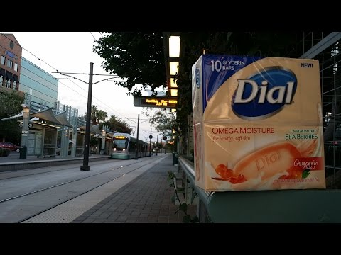 Dial Omega Moisture with sea Berries bar soap review.