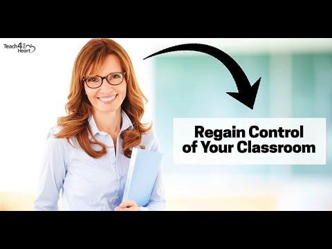 Classroom Management Solutions training