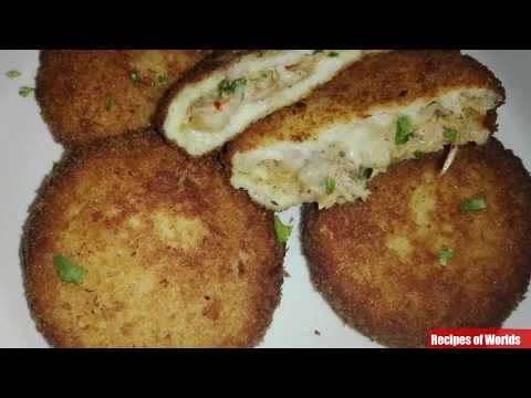 Chicken Bread Pockets Recipe,Crispy Bread Pockets,Ramadan Recipe