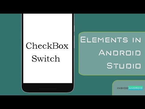 Switch and CheckBox in Android Studio