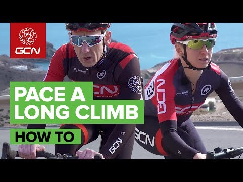 How To Pace Your Effort On A Long Climb
